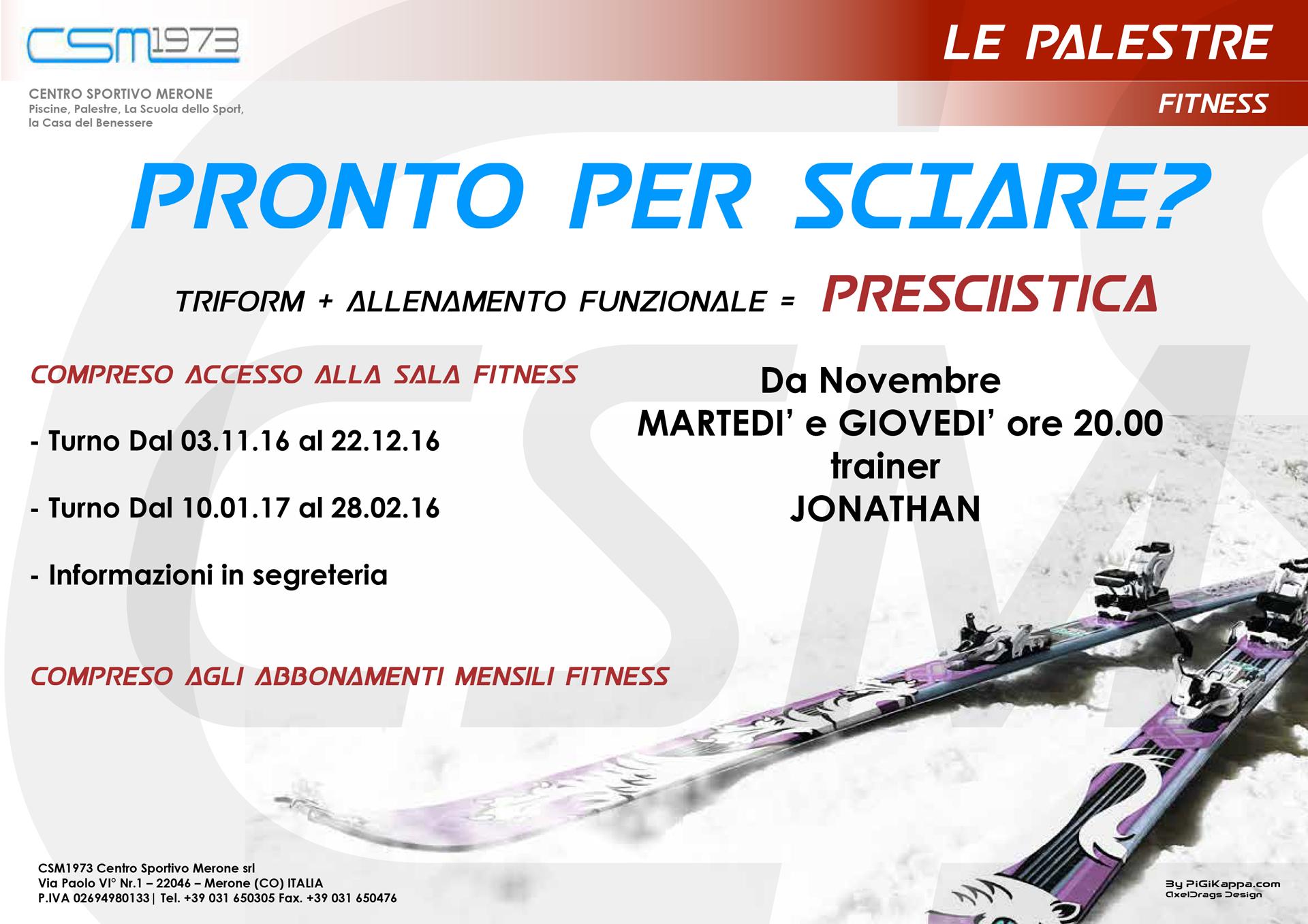 Presciistica - Centro Sportivo Merone