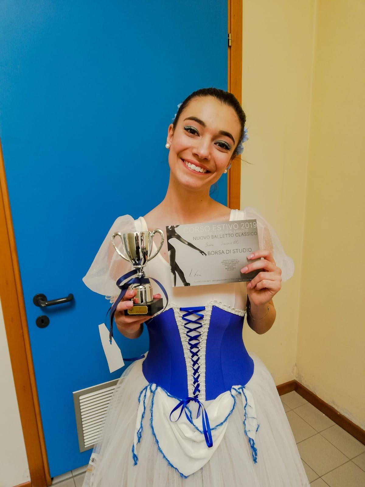 Altri successi per la nostra allieva Sara Ianniello